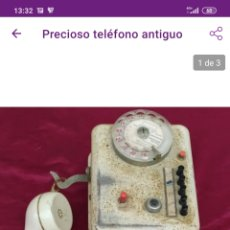 Teléfonos: PRECIOSO TELÉFONO ANTIGUO. Lote 221364515