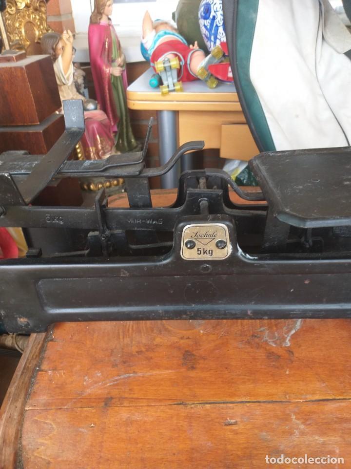 Antigüedades: antigua balanza alemana SOCHNLE,peso tienda - Foto 2 - 221406838