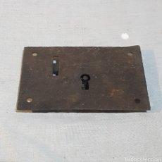 Antigüedades: ANTIGUA CERRADURA SIN LLAVE. Lote 221445168