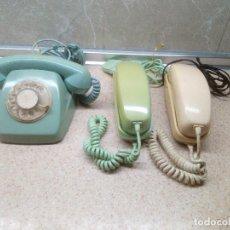 Téléphones: TELEFONOS HERALDO DE CITESA EN TRES TONOS, AZUL TURQUESA, VERDE AZULADO Y BEIG.. Lote 221483283