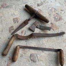 Antigüedades: HERRAMIENTAS ANTIGUAS DE TONELERO. Lote 221549458