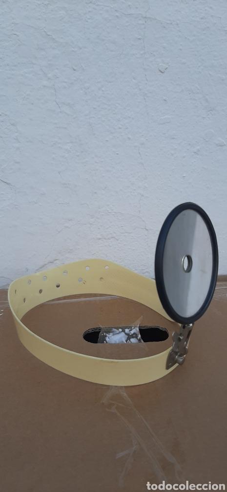 ANTIGUO ESPEJO FRONTAL OTORRINOLARINGÓLOGO AÑOS 20 30 (Antigüedades - Técnicas - Otros Instrumentos Ópticos Antiguos)