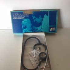 Antigüedades: LITTMANN STETHOSCOPE NEW IN THE BOX. Lote 221582843