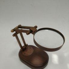 Antigüedades: LUPA CON SOPORTE GRADUAL PARA ESCRITORIO. Lote 221589000