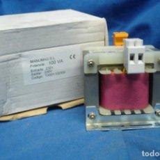 Antigüedades: TRANSFORMADOR MANUMAG - PRIMARIO 230 V. 50/60 HZ, SECUNDARIO 230 V.. Lote 221611316