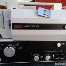Antigüedades: PROYECTOR ANTIGUO SONORO EUMIG MARC S807 PARA SUPER 8 Y SINGLE 8. Lote 221632497