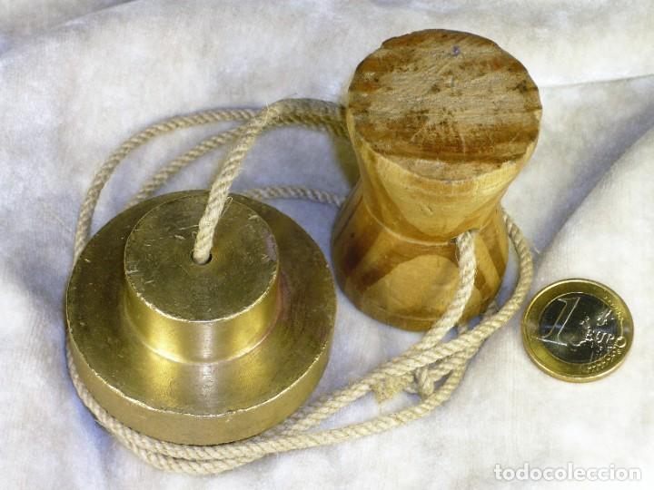 Antigüedades: Plomada para Construcción con Nuez. S.XIX Plumb for Construction with Nut. - Foto 4 - 221641628