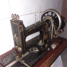 Antigüedades: MAQUINA DE COSER,FUNCIONA.VER FOTOS... Lote 221648241