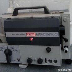 Antigüedades: PROYECTOR ANTIGUO EUMIG MARK S 710 D SONORO PARA SUPER 8 Y SINGLE 8 TODOS LOS FORMATOS. Lote 221656795