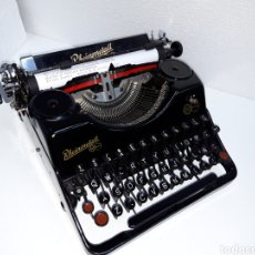 Antigüedades: ANTIGUA MAQUINA DE ESCRIBIR TYPEWRITER RHEINMETALL. Lote 221662022