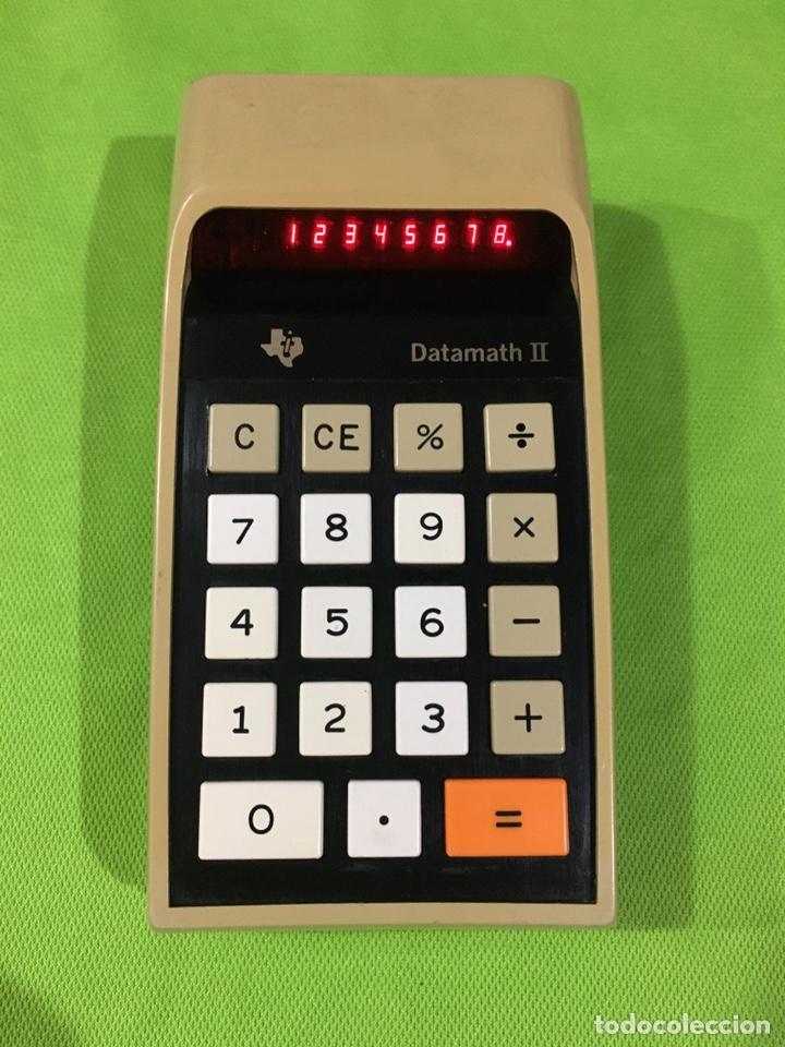 CALCULADORA TEXAS INSTRUMENTS TI-2500 DATAMATH II (Antigüedades - Técnicas - Aparatos de Cálculo - Calculadoras Antiguas)
