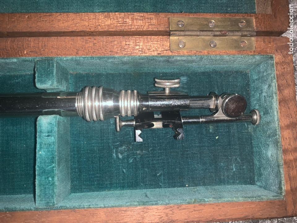 Antigüedades: Cámara lúcida, Paris, siglo XIX, completo con su llave y sus lentes - Foto 3 - 221723173