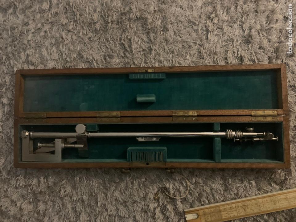 Antigüedades: Cámara lúcida, Paris, siglo XIX, completo con su llave y sus lentes - Foto 5 - 221723173