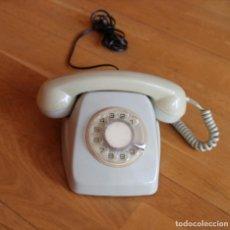 Teléfonos: TELEFONO GRIS DE ROSETA. Lote 221734030