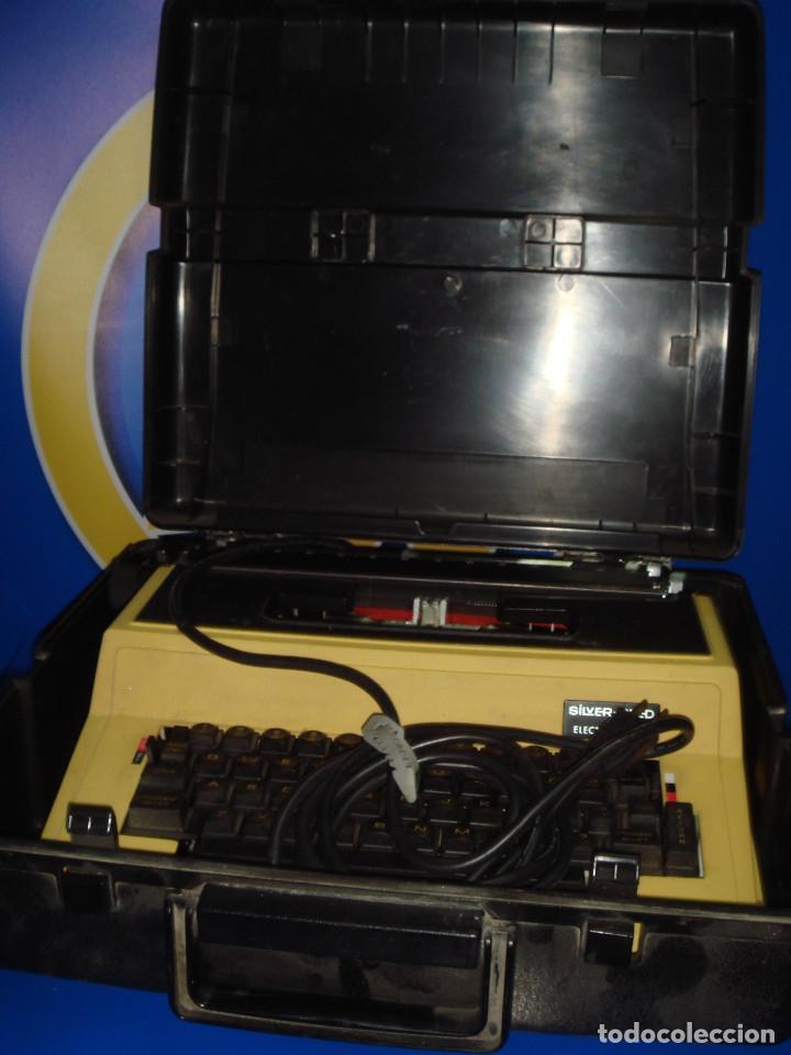 Antigüedades: Maquina de escribir vintaje electrica SILVER-REED electric 8610 - Foto 3 - 221737842