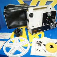 Antigüedades: PROYECTOR CINE SUPER 8 MM - EUMIG MARK 610D- 8MM - PROYECTOR PORTATIL -1972. Lote 221739485