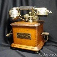Teléfonos: AÑO 1932.TELEFONO MANIVELA .PARIS. SOCIEDAD DE OBREROS.BUEN ESTADO, FRANCES. Lote 221740935