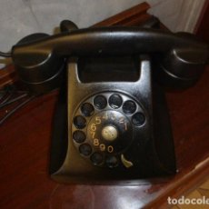 Teléfonos: ANTIGUO TELEFONO DE BAQUELITA. Lote 221803480