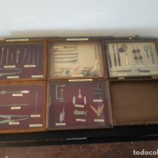 Antiquités: CIRUGIA PREHISTÓRICA Y ANTIGUA. SIGLOXVIII INSTRUMENTOS OFTALMOLÓGICOS, SUTURA, MEDICO-QUIRÚRGICOS.. Lote 221808073
