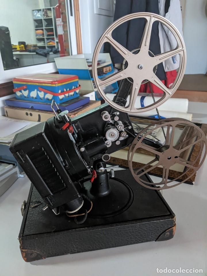 1929 PROYECTOR VICTOR MODELO 3 DE 16 MM RARISIMO Y EN PERFECTO ESTADO FABRICADO EN IOWA USA (Antigüedades - Técnicas - Aparatos de Cine Antiguo - Proyectores Antiguos)