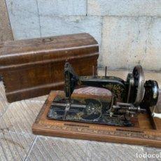 Antigüedades: MÁQUINA DE COSER FRISTER & ROSSMANN -BERLÍN- ORIGINAL (FM). Lote 221812868
