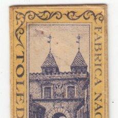 Antigüedades: ANTIGUA HOJA AFEITAR FABRICA NACIONAL TOLEDO. Lote 221833237