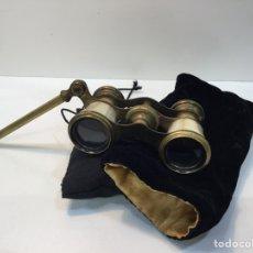 Antigüedades: PRISMÁTICOS DE LATÓN Y NÁCAR -SIGLO XIX EXCELENTE ESTADO. Lote 221864720