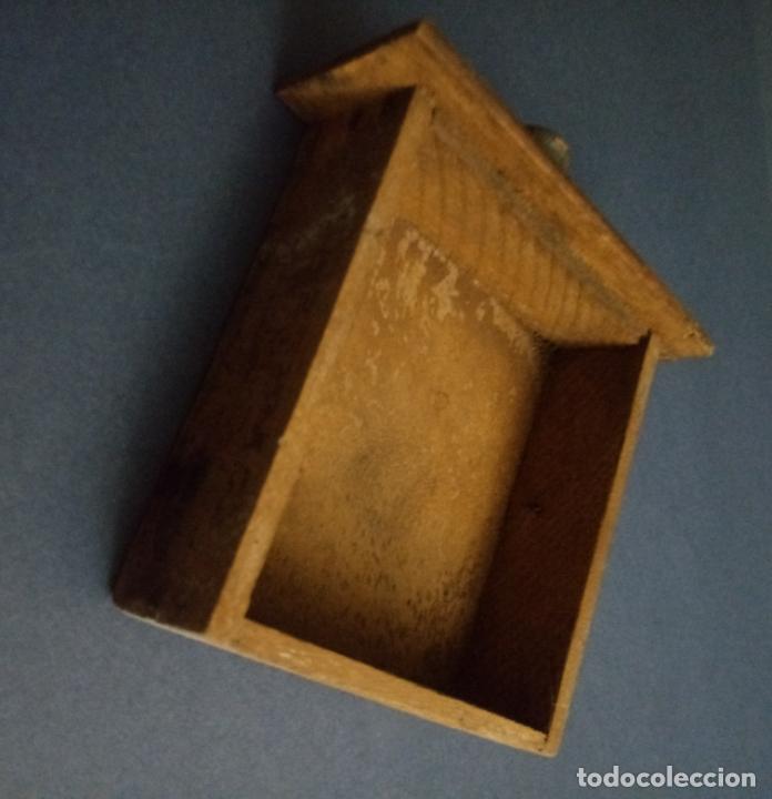 Antigüedades: ANTIGUO MOLINILLO DE CAFÉ - MARCA ELMA - MADERA Y METAL - 12 x 10 CMS - Foto 5 - 221867908