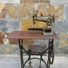 Antigüedades: ANTIGUA MAQUINA DE COSER HURTU AÑO 1890 SEWING MACHINE A COUDRE NAHMASCHINE. Lote 221883295