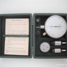 Antigüedades: TACOMETRO ANTIGUO MEDIDOR MECANICO DE REVOLUCIONES - JAQUET. Lote 221884603