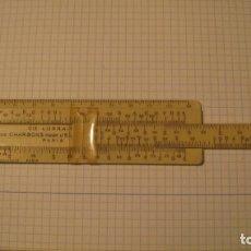 Antigüedades: ANTIGUA REGLA DE CÁLCULO FRANCESA. Lote 221891668