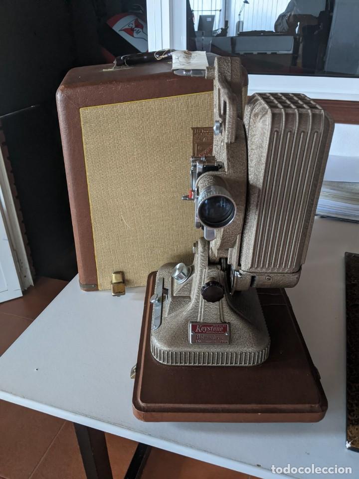 Antigüedades: 1940 PROYECTOR KEYSTONE MODELO BELMONT K-161 IMPECABLE - 16 MM - BOSTON - ESTADOS UNIDOS - Foto 5 - 221895183