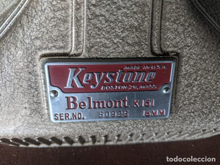 Antigüedades: 1940 PROYECTOR KEYSTONE MODELO BELMONT K-161 IMPECABLE - 16 MM - BOSTON - ESTADOS UNIDOS - Foto 7 - 221895183