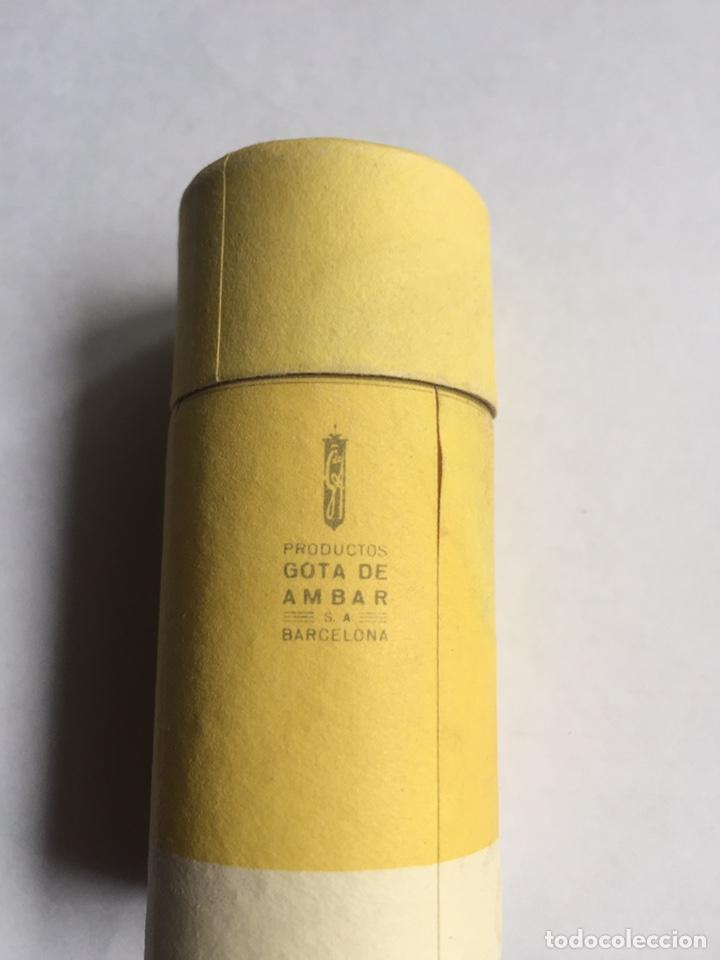 Antigüedades: Jabón de afeitar Gota de Ámbar Nuevo y completo Barcelona - Foto 4 - 221918712
