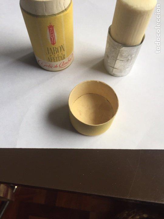 Antigüedades: Jabón de afeitar Gota de Ámbar Nuevo y completo Barcelona - Foto 7 - 221918712