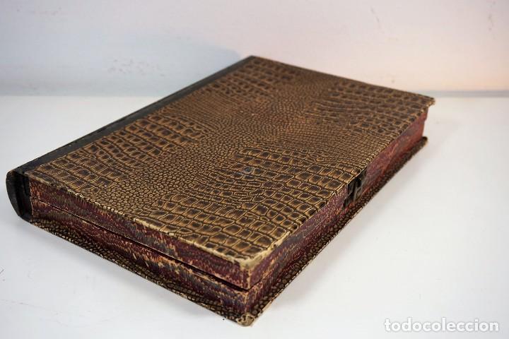 Antigüedades: ANTIGUA CAJA PARA PREPARACIONES MICROSCOPICAS c.1900 - Foto 3 - 221944628
