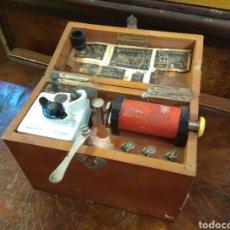 Antiguidades: ANTIGUO APARATO MÉDICO DE ELECTROTERAPIA CHARLES CHARDIN - PARÍS - XIX -. Lote 221967995