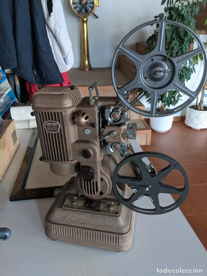 1940 PROYECTOR CINE 16 MM IMPERIAL IMPECABLE ESTADOS UNIDOS PIEZA DE PRECISION ESPECTACULAR (Antigüedades - Técnicas - Aparatos de Cine Antiguo - Proyectores Antiguos)