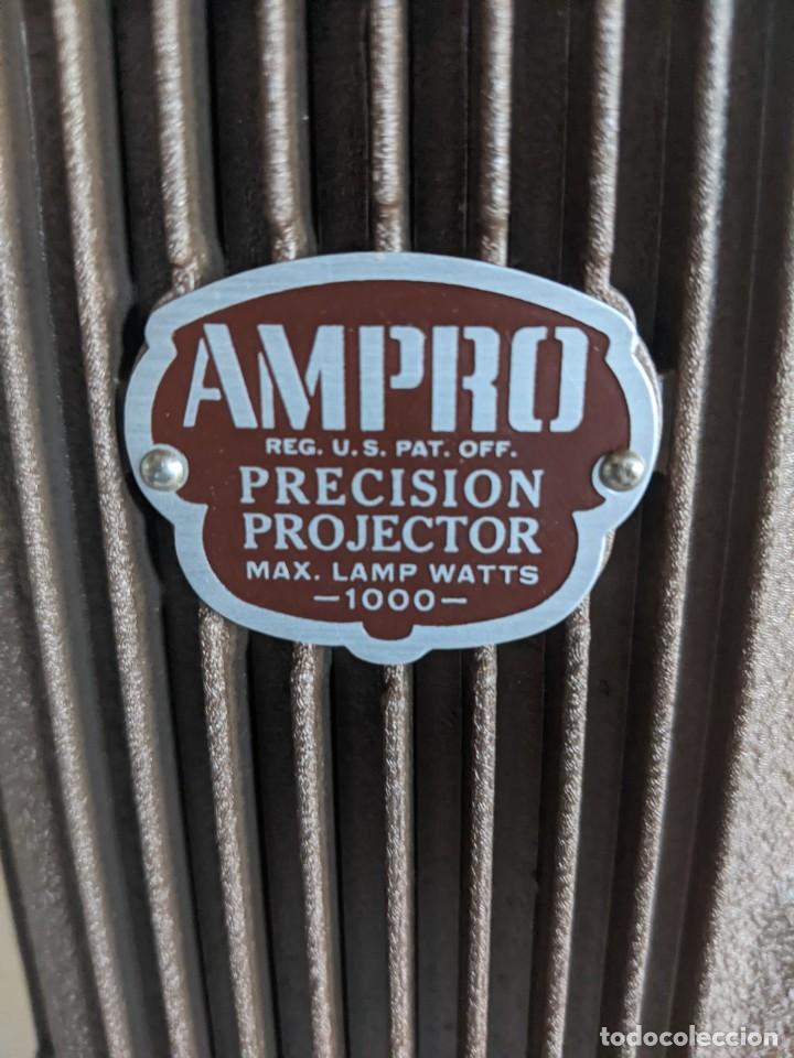 Antigüedades: 1940 PROYECTOR CINE 16 MM IMPERIAL IMPECABLE ESTADOS UNIDOS PIEZA DE PRECISION ESPECTACULAR - Foto 7 - 222018288