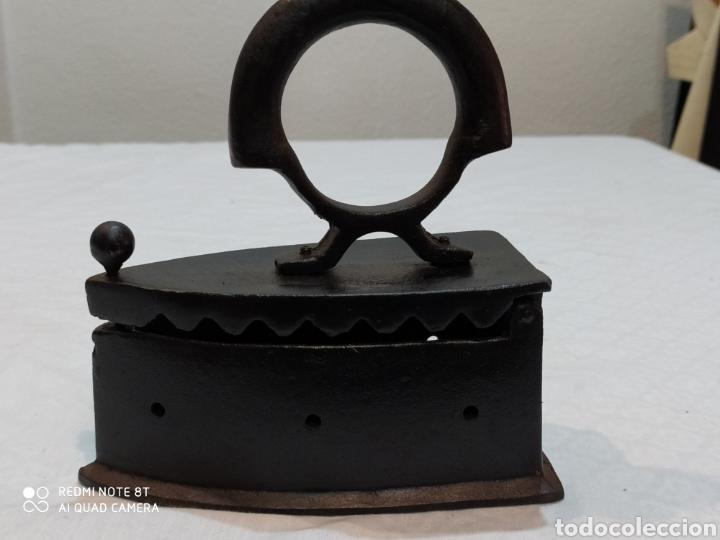 Antigüedades: Bonita plancha de carbón - Foto 5 - 222040291