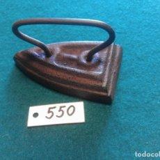 Antigüedades: PLANCHA DE HIERRO FUNDIDO. Lote 222051072