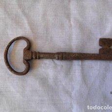Antigüedades: ANTIGUA LLAVE MUY RARA MUY GRANDE. Lote 222059843