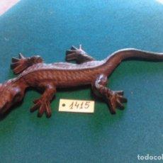 Antigüedades: SALAMANDRA HIERRO FUNDIDO. Lote 222067771