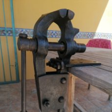 Antigüedades: MARTILLO DE BANCO DE CARPINTERO ANTIGUO. Lote 222085968