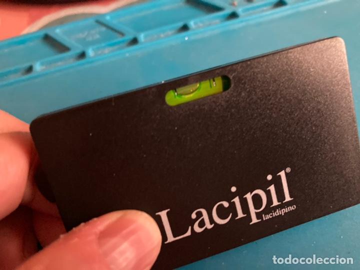 Antigüedades: Nivel de bolsillo con metro Lacipil - Foto 4 - 222149450