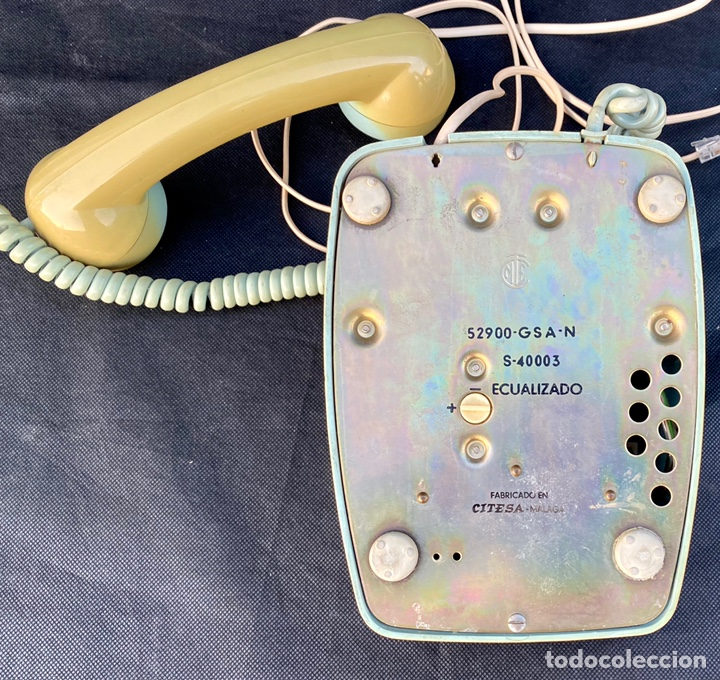 Teléfonos: CITESA. Teléfono Citesa antiguo - Foto 10 - 222184767