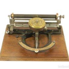 Antigüedades: MAQUINA DE ESCRIBIR PEOPLES AÑO 1983 TYPEWRITER SCHREIBMASCHINE MACHINE ECRIRE. Lote 222269746