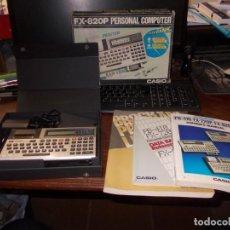 Antigüedades: PERSONAL COMPUTER CASIO FX-820P, NO FUNCIONA, VER FOTOS Y LEER DESCRIPCIÓN. Lote 222271490