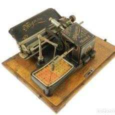 Antigüedades: MAQUINA DE ESCRIBIR MIGNON Nº2 1905 TYPEWRITER SCHREIBMASCHINE MACHINE ECRIRE. Lote 222274217
