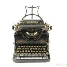 Antigüedades: MAQUINA DE ESCRIBIR STOEWER RECORD AÑO 1910 TYPEWRITER SCHREIBMASCHINE ECRIRE. Lote 222275243
